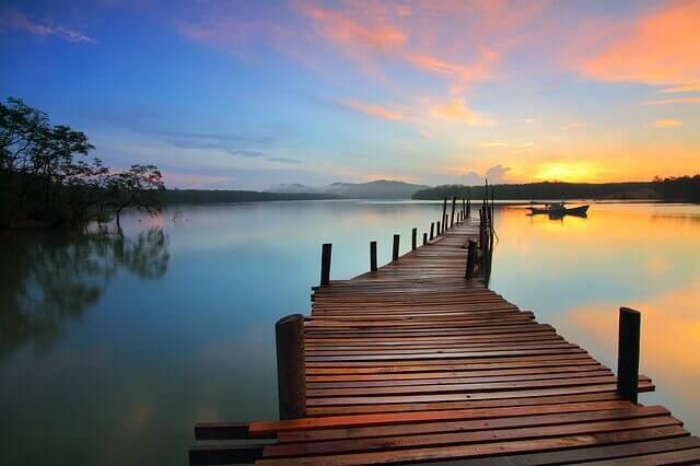 presente puesta sol