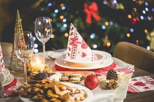 sobrevivir a la cena de navidad