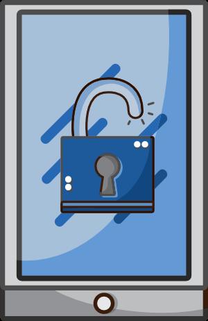 psicólogo online Barcelona - icono seguridad online