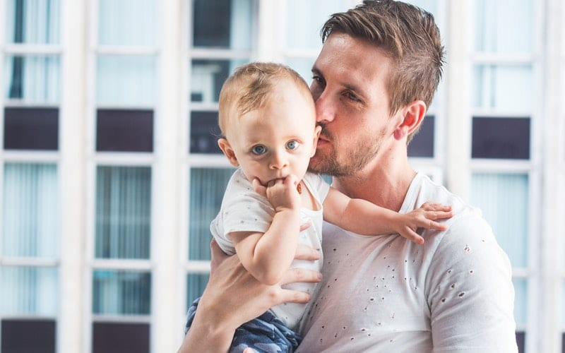 El rol del padre durante el embarazo y primer año de vida